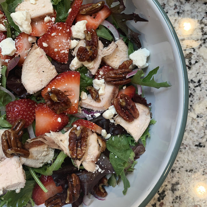 Wild Strawberry Chicken Salad