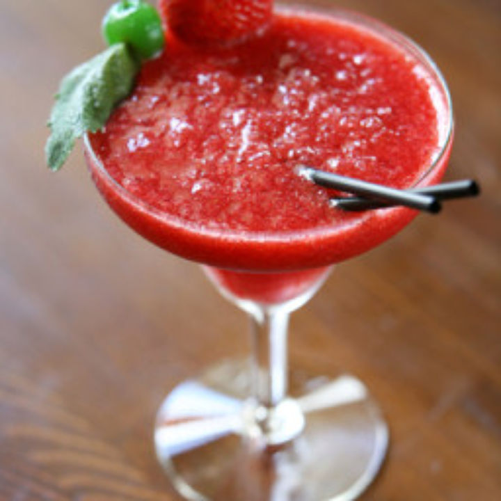 Frozen Raspberry Daiquiri