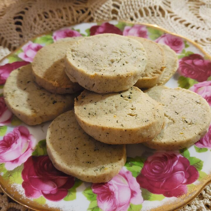Earl Grey and Lavender Shortbreads