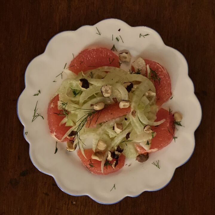 Fennel, Grapefruit with Earl Grey Lavender Vinaigrette
