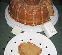 Tea-Glazed Irish Pound Cake