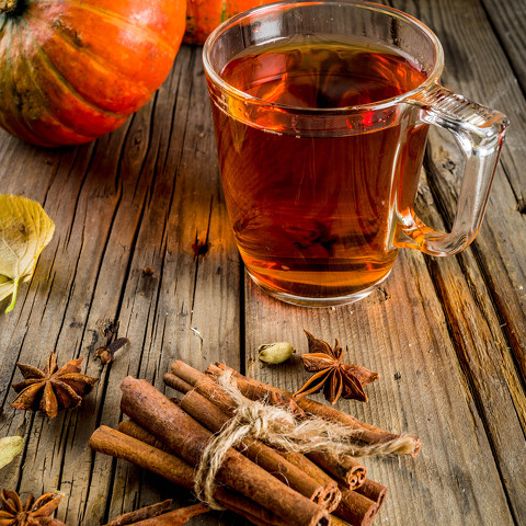 Pumpkin Chai Hot Toddy