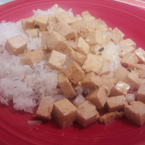 Easy Tea-Marinated Tofu Stir Fry