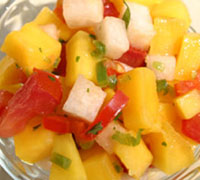 Gunpowder Mango Salsa