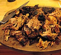 Hojicha Fugue Pulled Pork