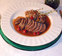Venison Dirty Tea Rice