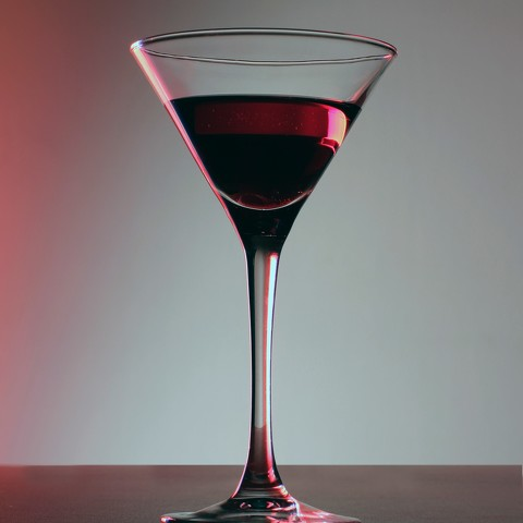 Pomegranate Rooibos Martini