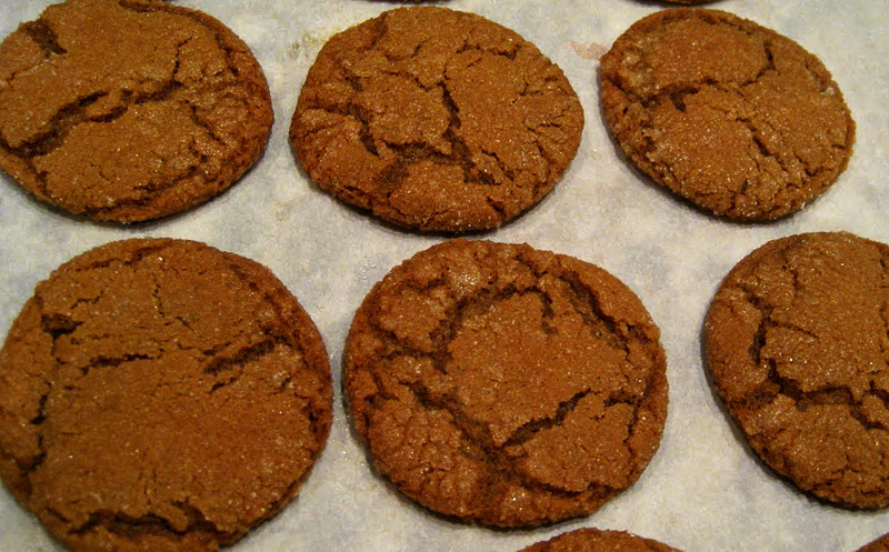 Chewy Pu'erh Ginger Snap Cookies
