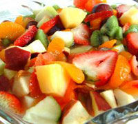 Minty Fruit Salad